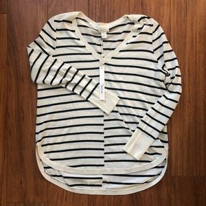 CASLON Striped Sweater